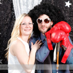 Custom Photobooth at a Corporate Christmas Party